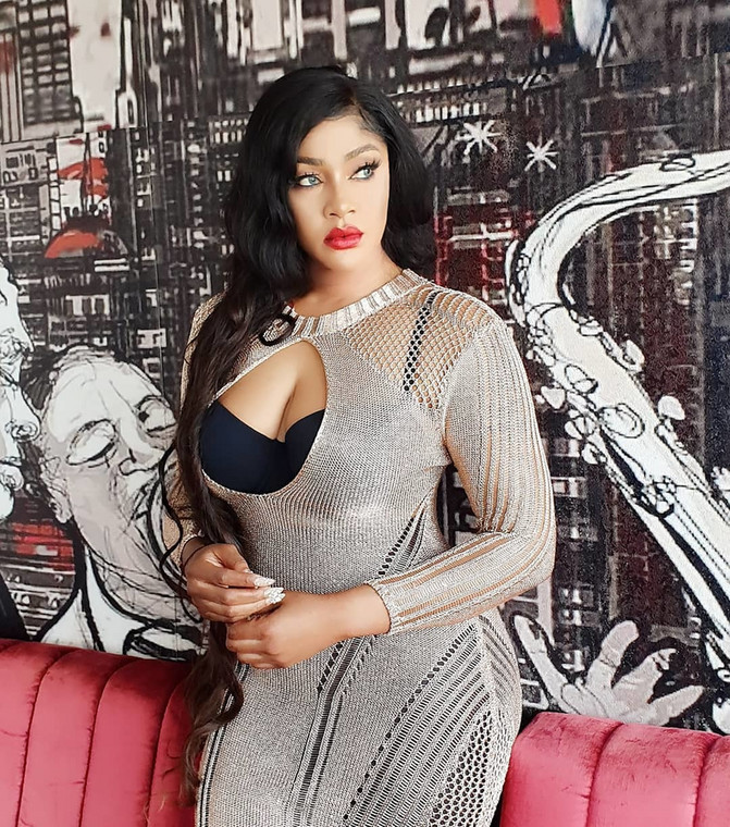 Tacha's statement came days after Nollywood actress, Angela Okorie had called her out for being ungrateful. According to her, Tacha didn't appreciate all the help that was rendered to her. [Instagram/RealAngelaOkorie]