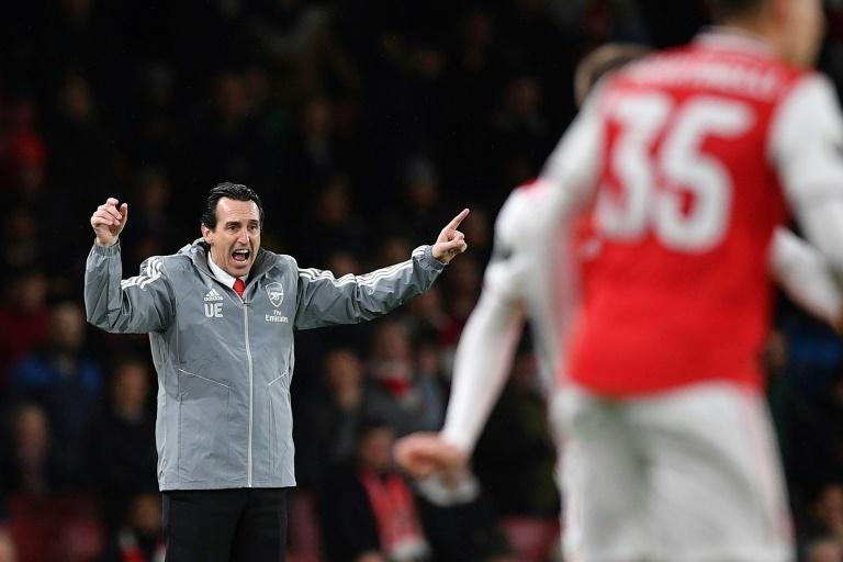 An animated Unai Emery saw his Arsenal side stretch their winless streak to more than a month with defeat to Eintrach Frankfurt