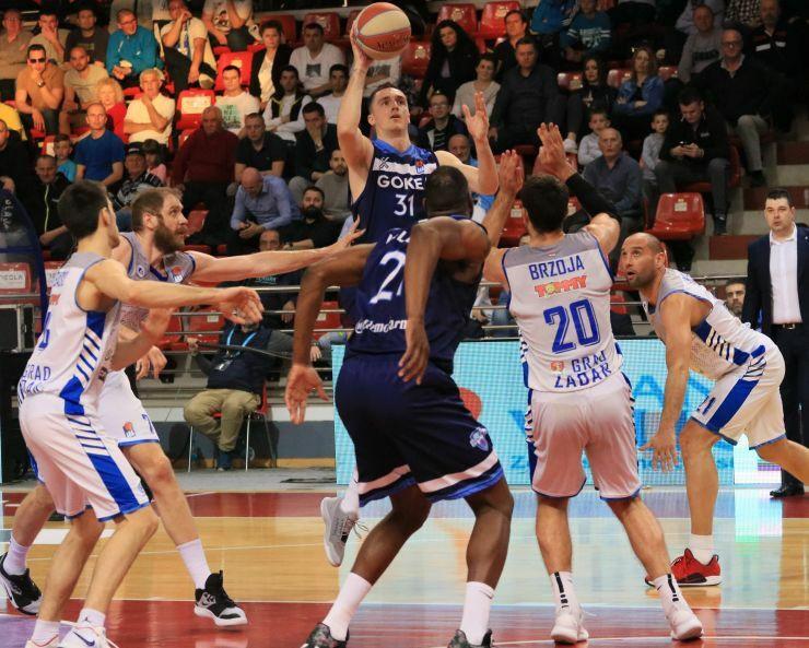 Danilo Anđušić, KK Igokea, Luka Žorić, KK Zadar