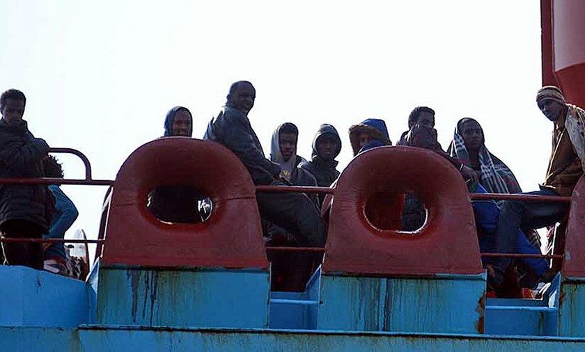 Emigranci z Afryki
