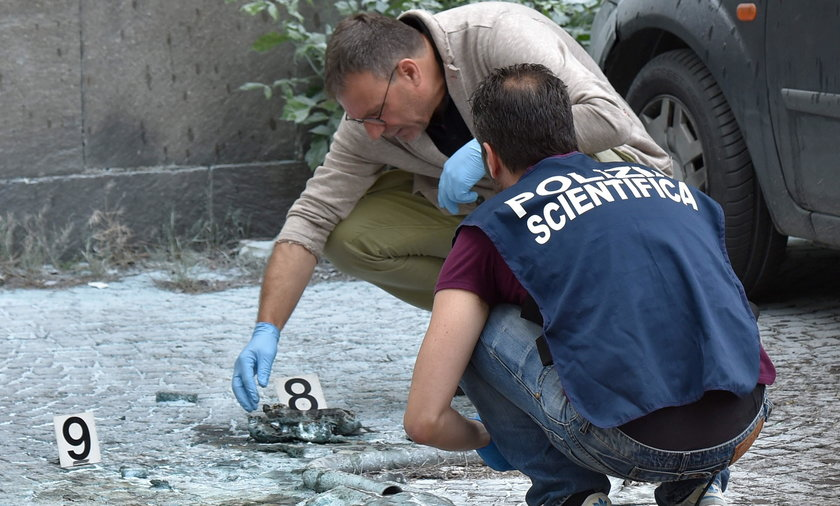 Eksplozja bomby w Rzymie