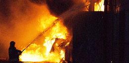 Płonął silos w porcie! 10 ton zboża poszło z dymem