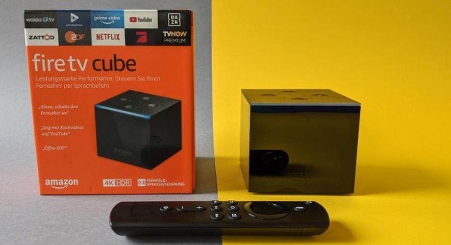 Amazon Fire TV Cube im Test: Jeden TV per Sprache steuern