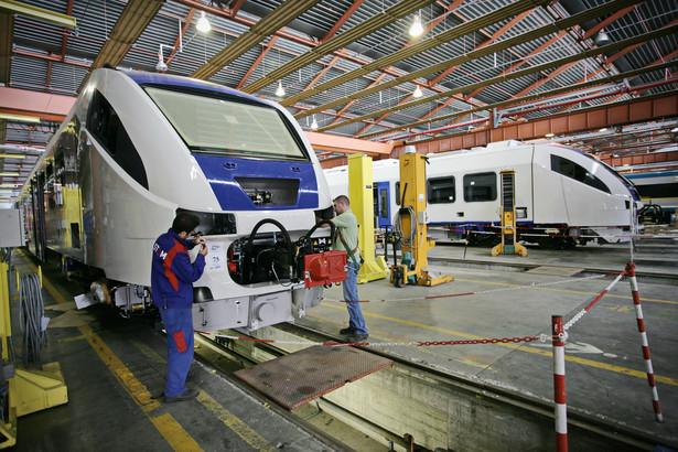 Francuski Alstom stał się drugim na świecie producentem taboru szynowego