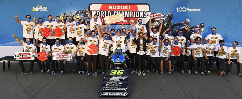 Suzuki mistrzem świata