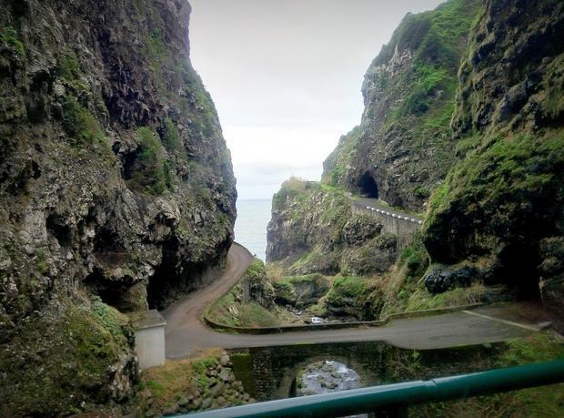 Stara droga ER101 na Maderze