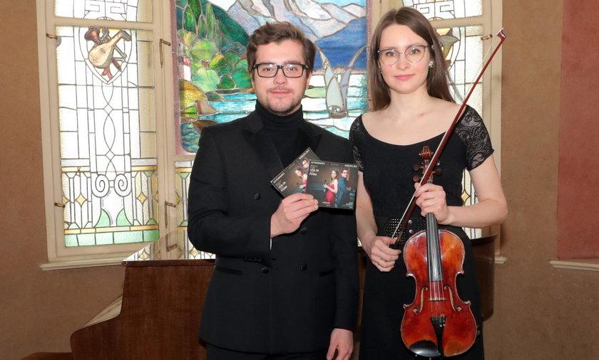 Adam Mikołaj Goździewski i Dominika Przech