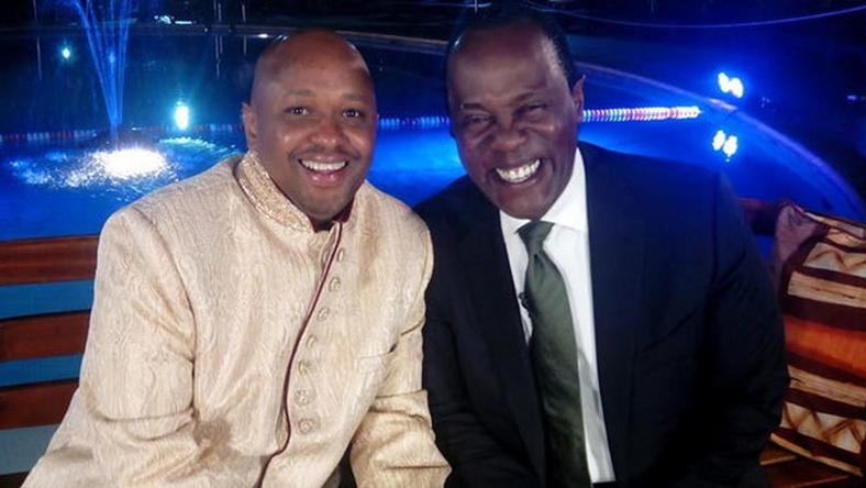 Tony Gachoka ad Jeff Koinange (Courtesy)