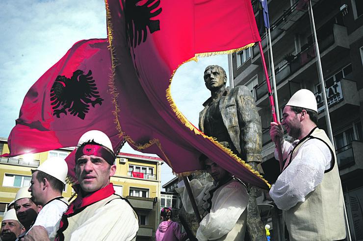 kosovo, velika albanija