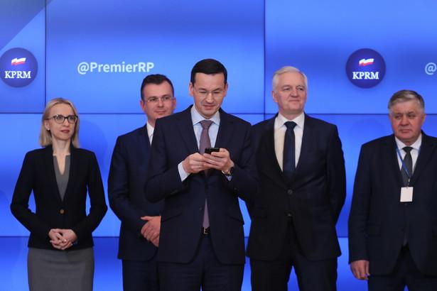 Premier Mateusz Morawiecki odwołał Wiesława Janczyka ze stanowiska sekretarza stanu w Ministerstwie Finansów