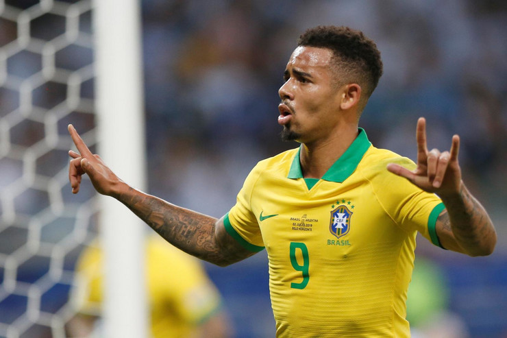 Gabrijel Žezus, fudbalska reprezentacija Brazila