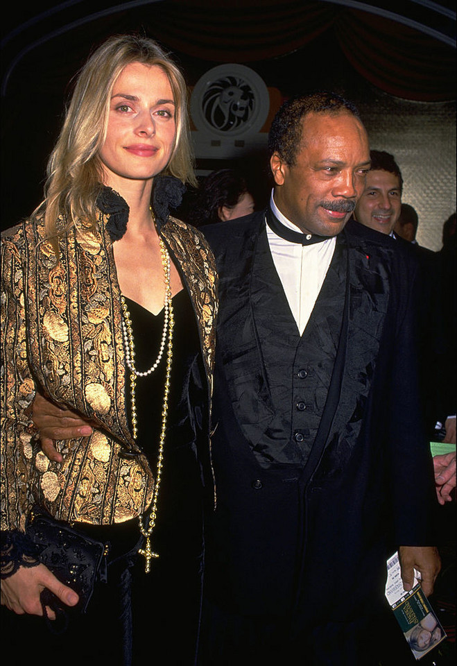 Nastassja Kinski i Quincy Jones