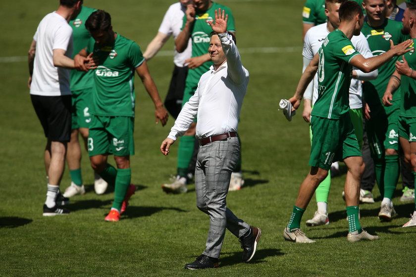 Dariusz Banasik (48 l.) dziś prowadzi Radomiaka, z którym najpierw awansował do I ligi, a teraz do ekstraklasy.