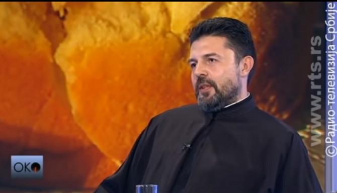 Đakon i veroučitelj Radomir Marinković