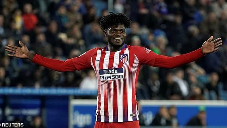 Ghanaian midfielder Thomas Partey's right foot is a gift