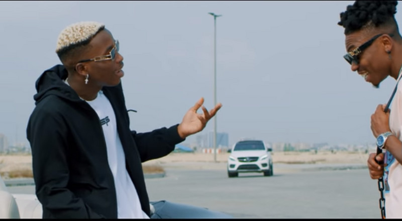 Mayorkun features in Lil Frosh's video for, 'Ko Le Re Body'
