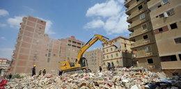 Katastrofa budowlana w Kairze. Uratowano niemowlę, rodzice i siostra zginęli