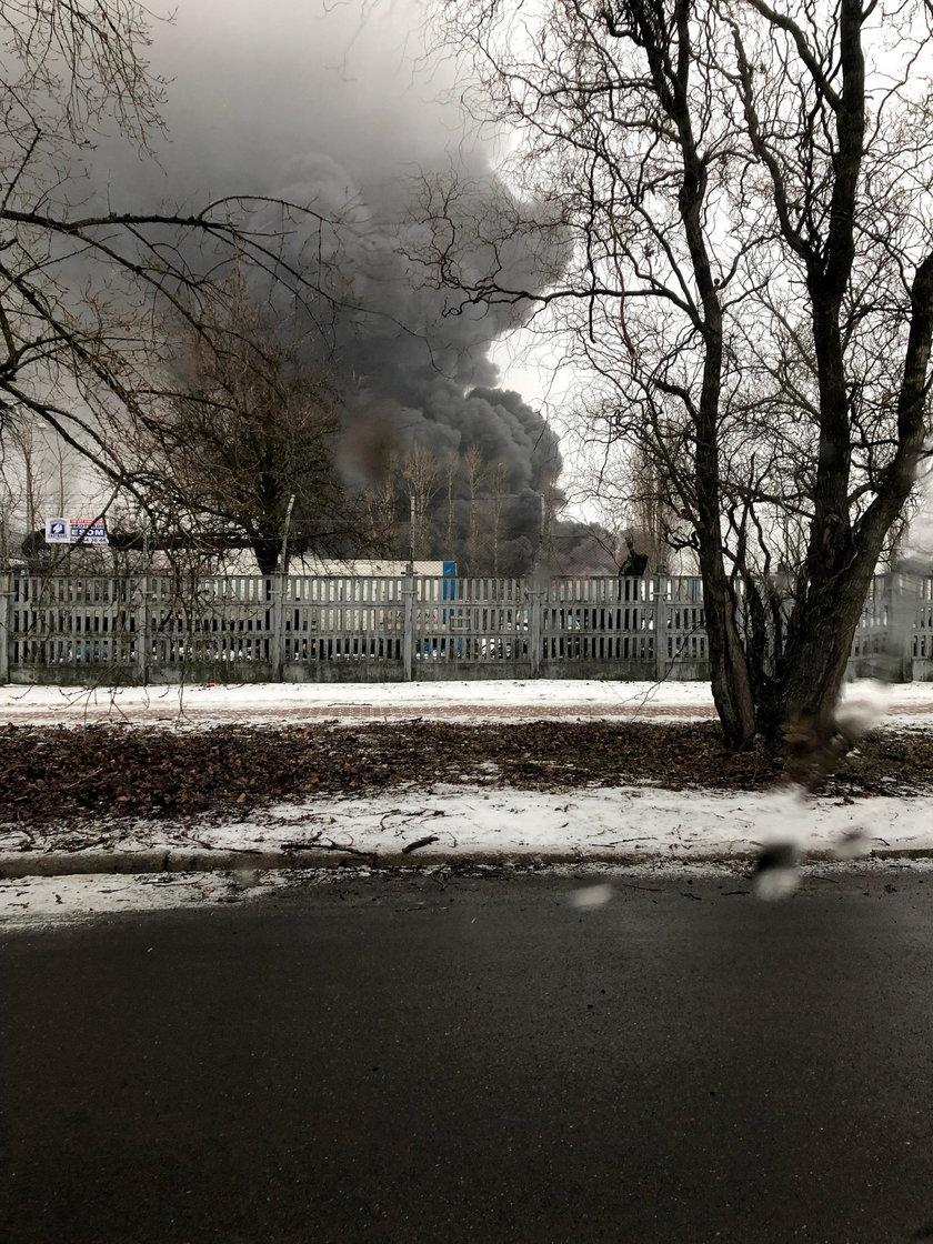 Pożar na Annopolu