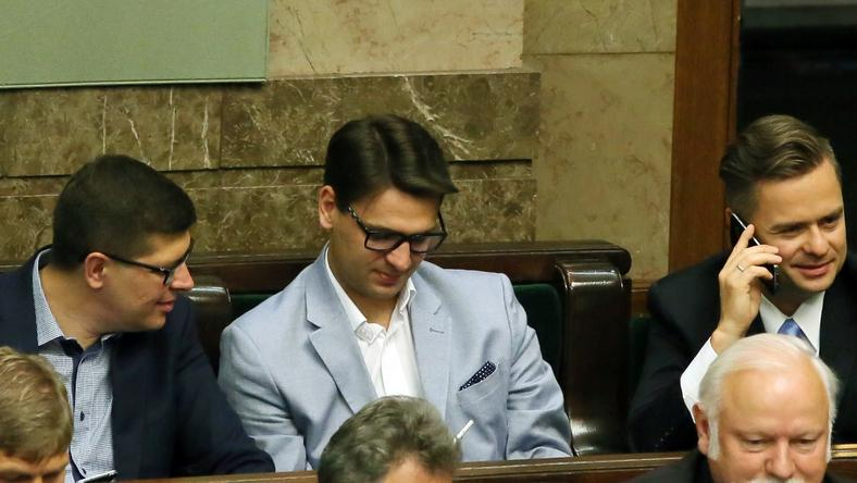 Adam Rogacki, Mariusz Kamiński, Adam Hofman