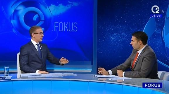 Nebojša Stefanović u emisiji