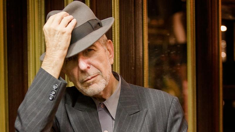 Leonard Cohen (fot. materiały prasowe)