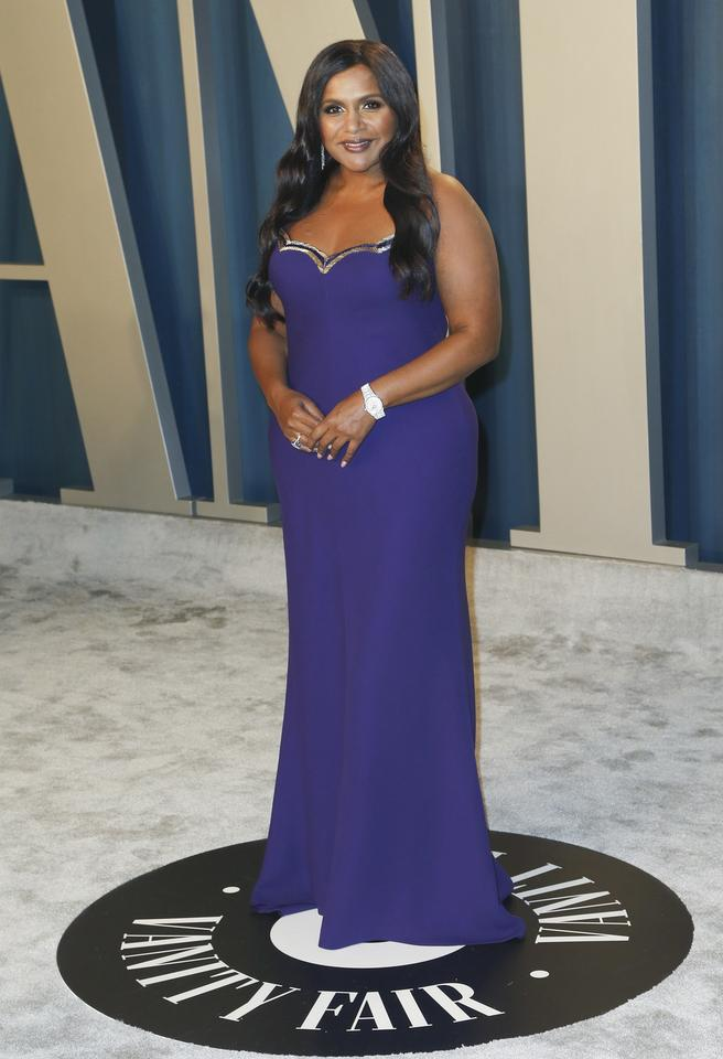 Oscary 2020: Mindy Kaling na Vanity Fair Oscar Party