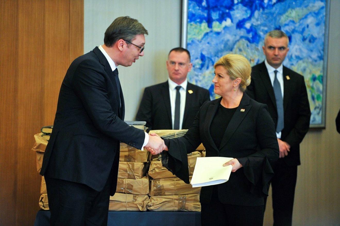 Predsednici Srbije i Hrvatske danas u Zagrebu