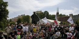 Zwolennicy JOW-ów w centrum