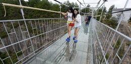 Przerażający most. Odważyłbyś się?