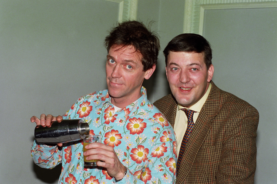 Hugh Laurie i Stephen Fry