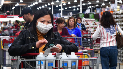 The majority of American support chains' like Starbucks and Costco's mandatory mask policies, but an aggressive minority is creating a crisis for workers