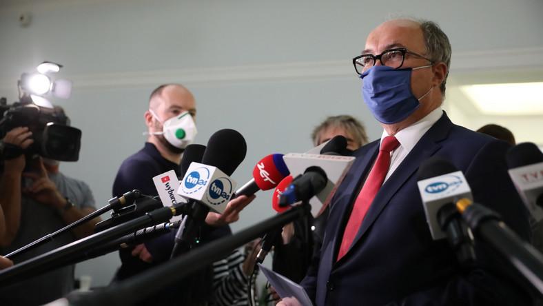 Przewodniczący SLD Włodzimierz Czarzasty