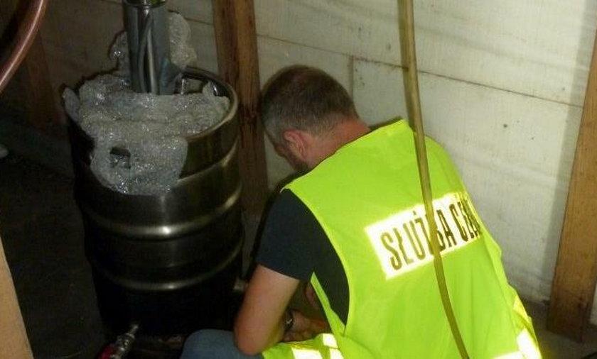 Nielegalna produkcja alkoholu zlikwidowana