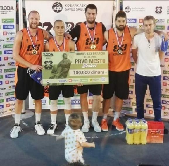 Turnir 3 na 3 u Paraćinu