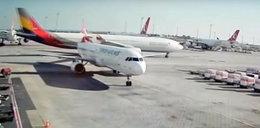 Zderzenie samolotów na lotnisku. Zobacz wideo