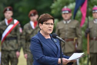 Premier: Moje słowa w Oświęcimiu nie odnosiły się do emigrantów