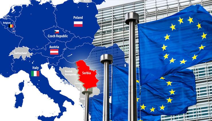 EU, Proširenje, italija, Češka, Poljska, Austrija, Kombo