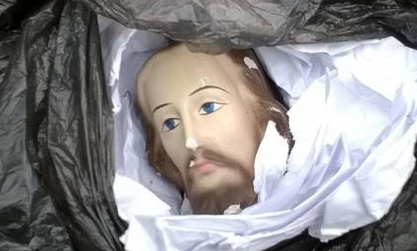 Gimnazjaliści z Limanowej urwali Jezusowi głowę