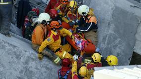 Tajwan: dwie osoby uratowane spod gruzów ponad 60 godzin po trzęsieniu ziemi