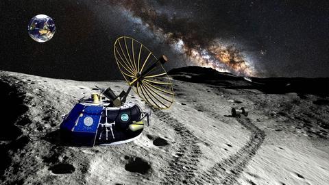 Wizualizacja lądownika Moon Express