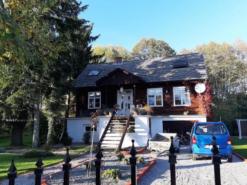 Marian Banaś, dom