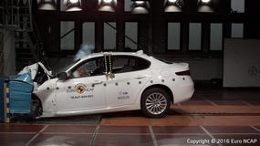 Testy zderzeniowe Euro NCAP - Alfa Giulia na pięć