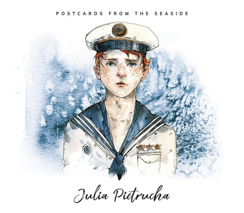 "Julia Pietrucha, ""Postcards From The Seaside"" - okładka"