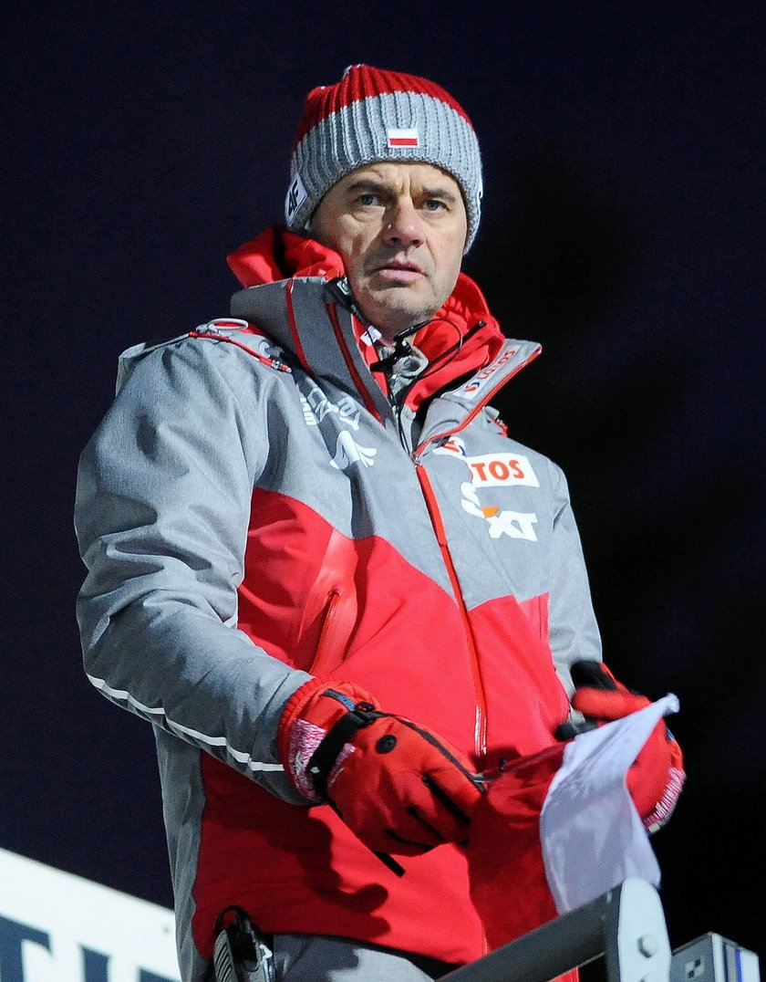 Stefan Horngacher zrugał Piotra Żyłę i Jana Ziobro za wygłupy na TCS