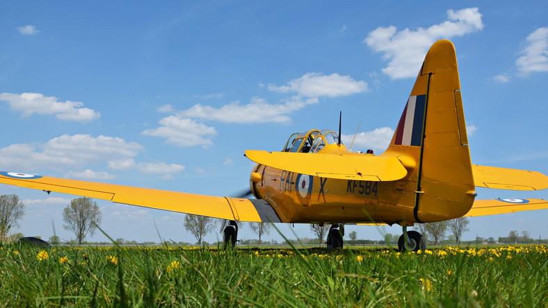 """Nawet ten, kto nie interesuje się lotnictwem, i tak może kojarzyć te maszyny – bardzo często """"grają"""" japońskie samoloty w amerykańskich filmach wojennych. Niewiele osób wie jednak wie, że to pierwszy amerykański samolot zamówiony dla RAF i sprowadzony na wyspy w dużej liczbie (""""Brytyjska komisja zakupowa złożyła początkowo zamówienie na 200 maszyn"""", potem doszło kolejnych 200 Harvardów I i 600 Harvardów II ). Co jeszcze wiadomo o typ typie maszyny?"""