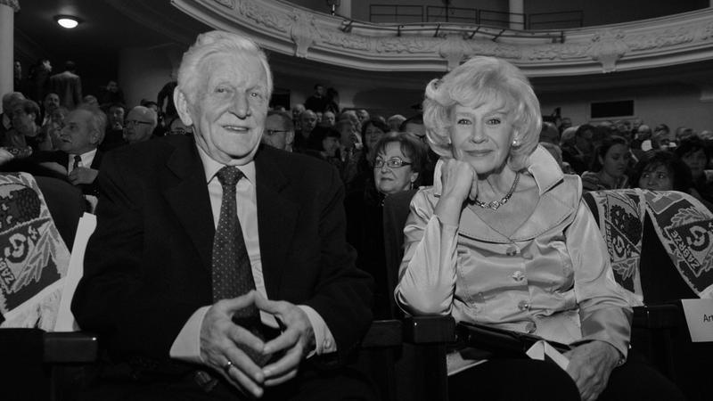 Henryk Loska i Krystyna Loska