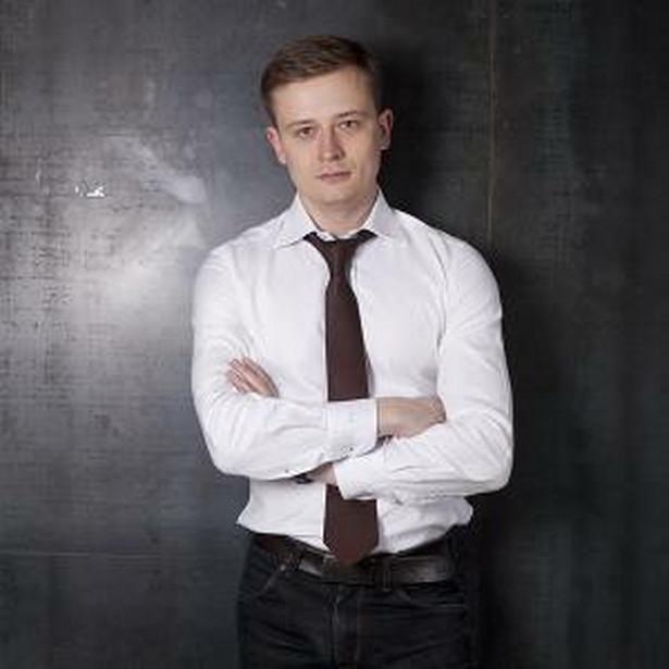 Dymitr Romanowski, prezes The Story i członka World Communication Forum Association in Davos.