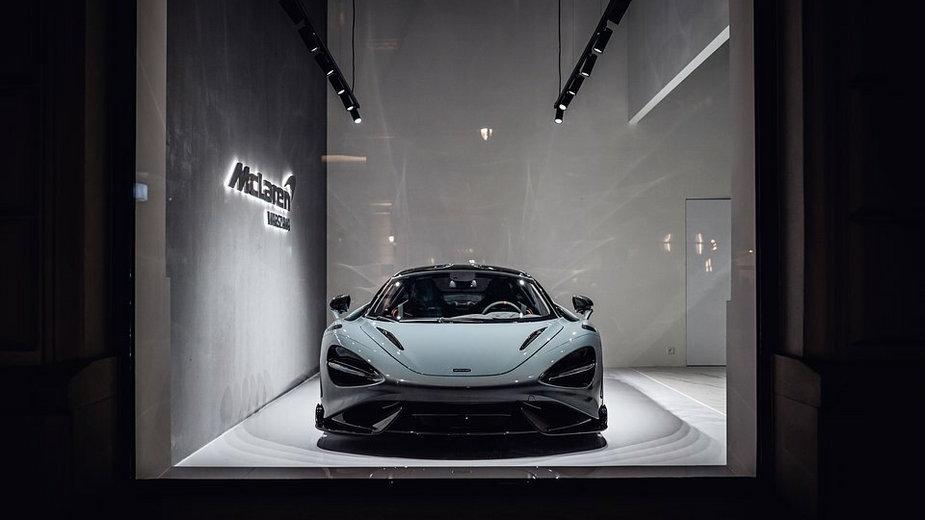 Showroom McLaren w Warszawie