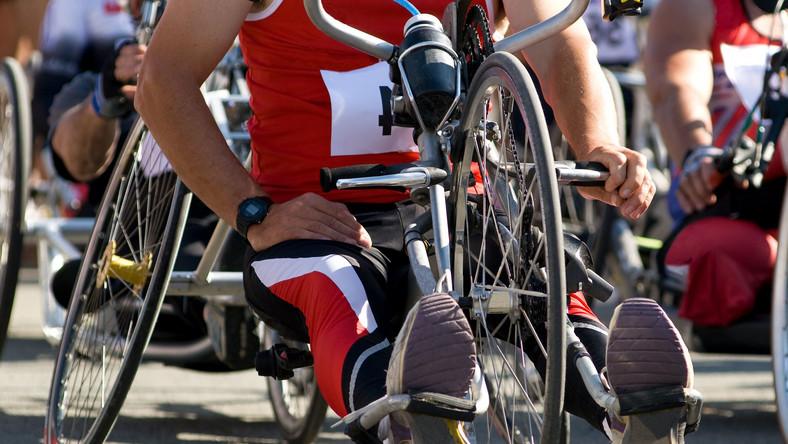 Handbike dla niepełnosprawnych