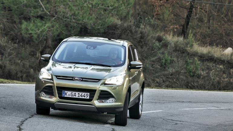 Jak jeździ nowy Ford Kuga?
